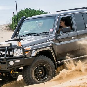 Select the vehicles of your choice as the vehicles are built with limited capacities.