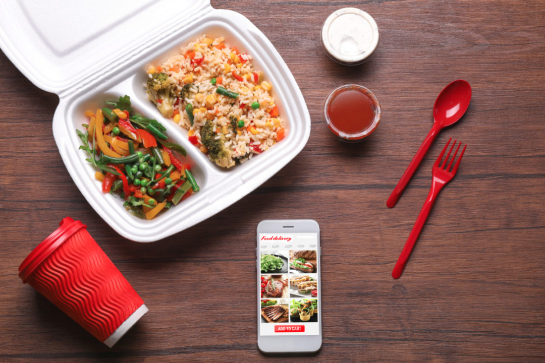 Easy way to order food from any restaurant